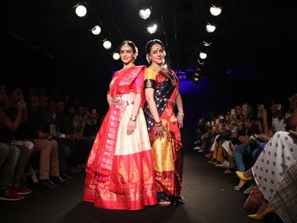Esha Deol Lakme Fashion Week 2