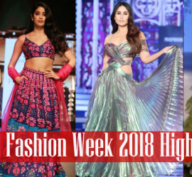 Star Studded Ramp Walk at Lakme Fashion Week 2018