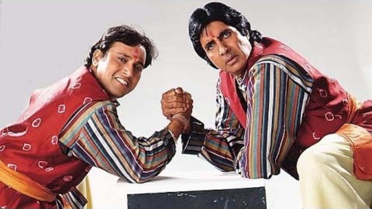 2 Amitabh Bachchan in Bade Miyan