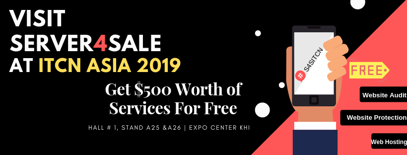 Server4sale Is Participating At ITCN ASIA 2019